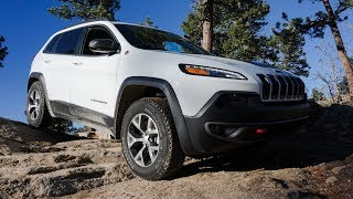 Colorado Roadtrip in a 2018 Jeep Cherokee Trailhawk