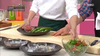 최고의 요리 비결 - 김하진의 소고기고추볶음과 미역자반_#001