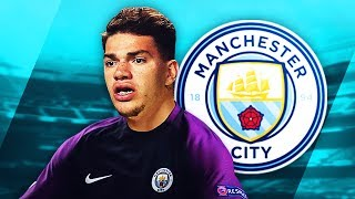 EDERSON - Welcome to Man City - Elite Saves & Reflexes - 2017 (HD)