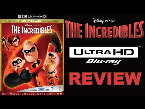 THE INCREDIBLES 4K Blu-ray Review | Dolby Atmos