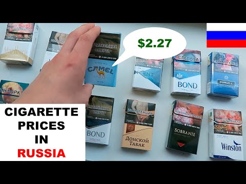 Cigarette Prices in Russia. (Is it really that cheap?)