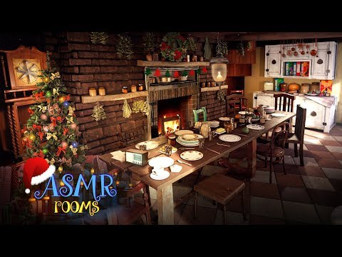 Christmas at the Burrow! Harry Potter Ambience at Weasley's - 2 hours 4K Holiday cozy fireplace