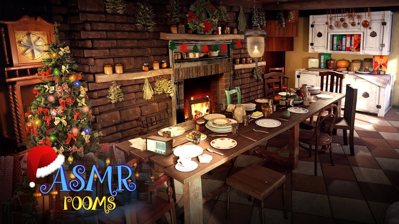 Christmas At The Burrow Harry Potter Ambience Weasleys