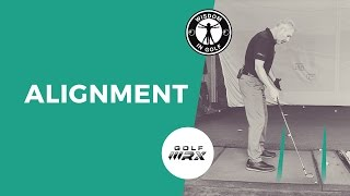 WHY YOUR ALIGNMENT IS ALWAYS OFF | Wisdom in Golf | Golf WRX