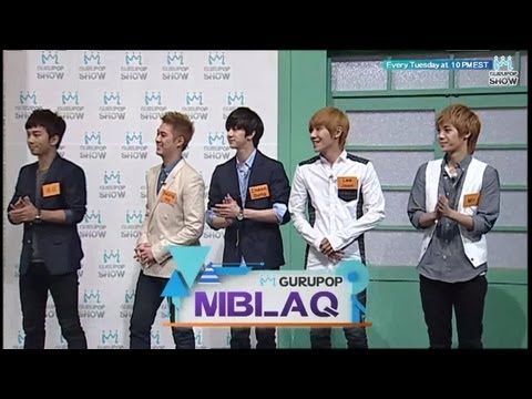 The GURUPOP Show EP5 - MBLAQ (Pt.2)