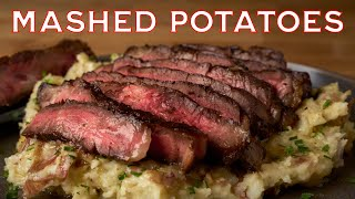 Mashed Potatoes with a Side of Steak | Making It MOJO
