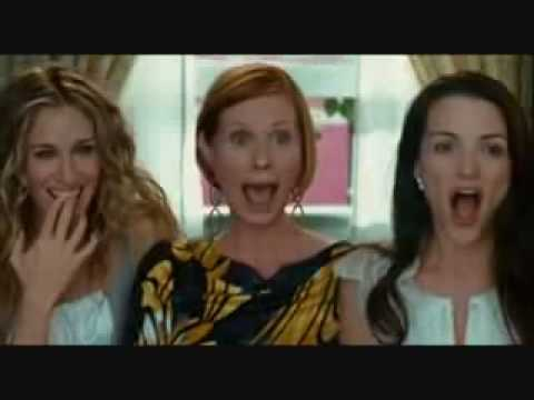 Labels or Love (fergie) music video - SATC movie clip