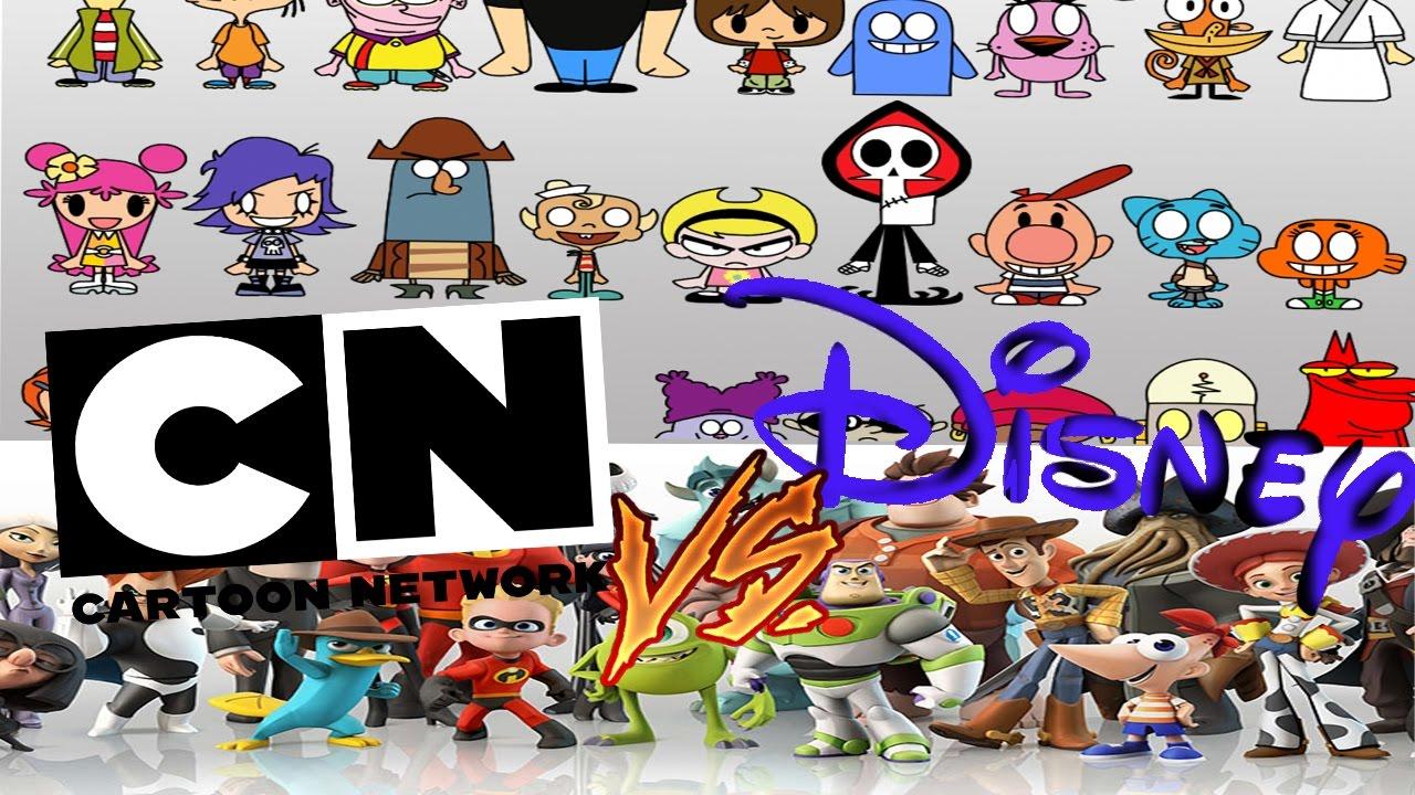 cartoon network vs disney