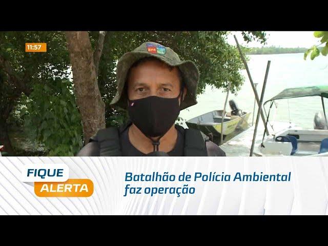 Batalhão de Polícia Ambiental faz operação com objetivo de verificar irregularidades