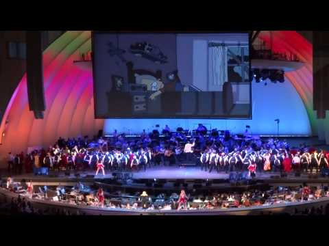 140913  Nancy Cartwright  Do the Bartman  @ The Simpsons Take the Hollywood Bowl