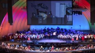 140913 - Nancy Cartwright - Do the Bartman  @ The Simpsons Take the Hollywood Bowl