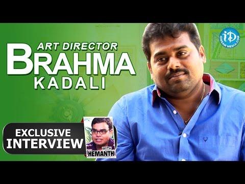 Sardaar Gabbar Singh - Art Director Brahma Kadali Interview || Talking Movies with iDream #148