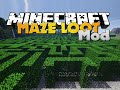 Minecraft - MAZE MOD - GENERATED MAZES WITH LOOT