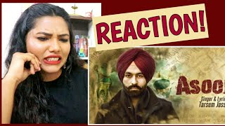 South Indian Reacts to ASOOL | Tarsem Jassar | Latest Punjabi songs 2019