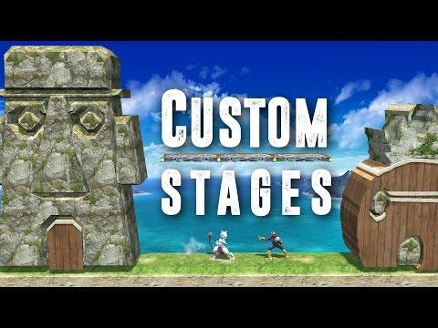 Custom Stages - Super Smash Bros for Wii U - YouTube