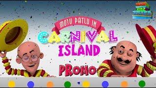 Motu Patlu In Carnival Island   Most popular Movies For Kids   Promo   WowKidz Movies