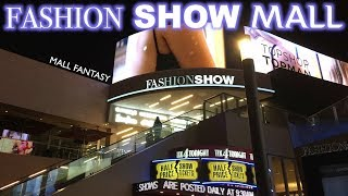 FASHION SHOW MALL | LAS VEGAS, NV - MALL FANTASY