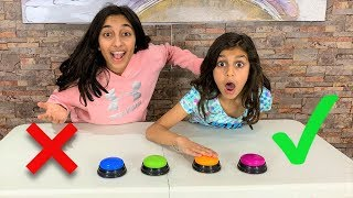 Don't Push the Wrong Button Slime Challenge!!