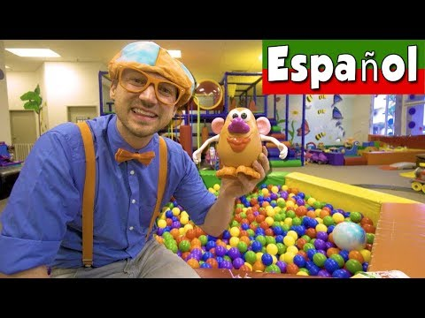 Aprende las Partes del Cuerpo con Blippi Español | Videos Educacionales para Niños