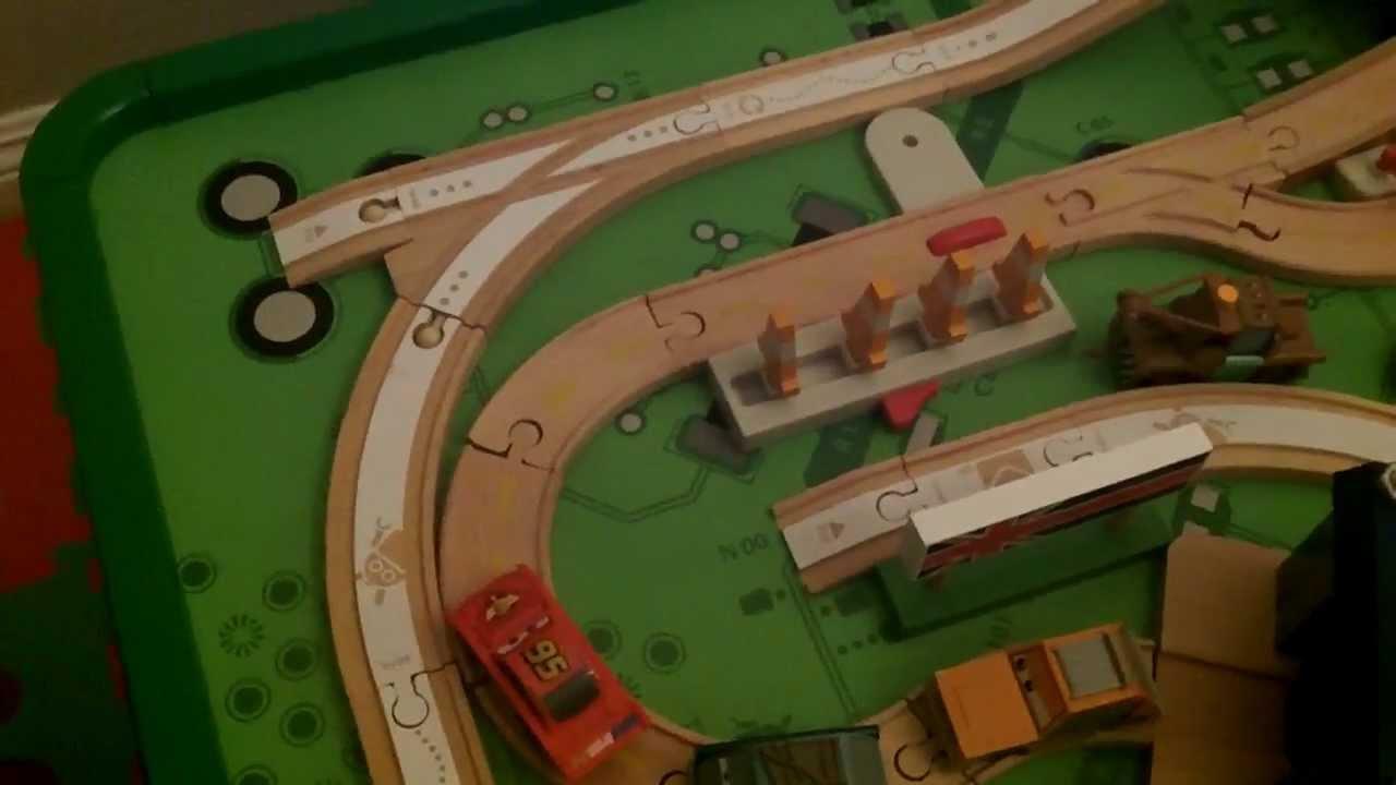 Jonahs Brio Wooden Train Disney Pixar Cars Wood Collection