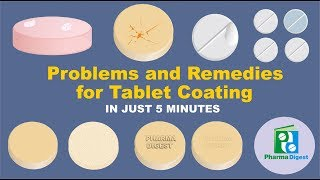 Problems and Remedies for Tablet Coating in Just 5 Minutes