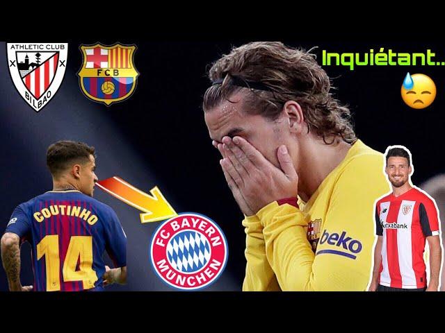 LE BARÇA CHUTE DÉJA ..! MESSI DÉPENDANCE PART II (Coutinho au Bayern / Suarez blessé)