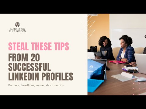 Top tips from 20 successful LinkedIn Profiles from YouTube · Duration:  5 minutes 44 seconds