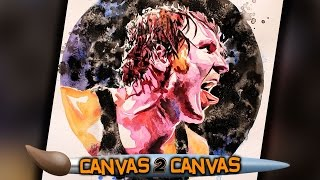 The Lunatic Fringe hits the canvas: WWE Canvas 2 Canvas