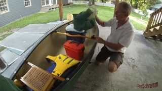 Outfitting a Canoe for Fishing and Filming