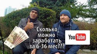 Сколько я заработал на YouTube за 5 месяцев? Почему веду видео блог? | Совместное видео