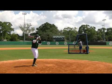 Calvin Rucker - 2017 First Baseman from Tampa Catholic High School