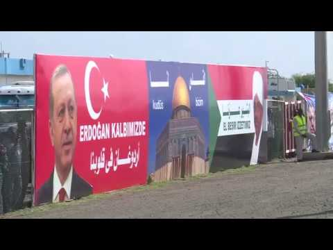 Erdogan visits Ottoman sites in Sudanese island