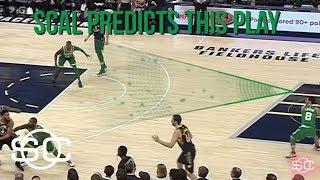 Celtics commentator predicts crazy finish | SportsCenter | ESPN