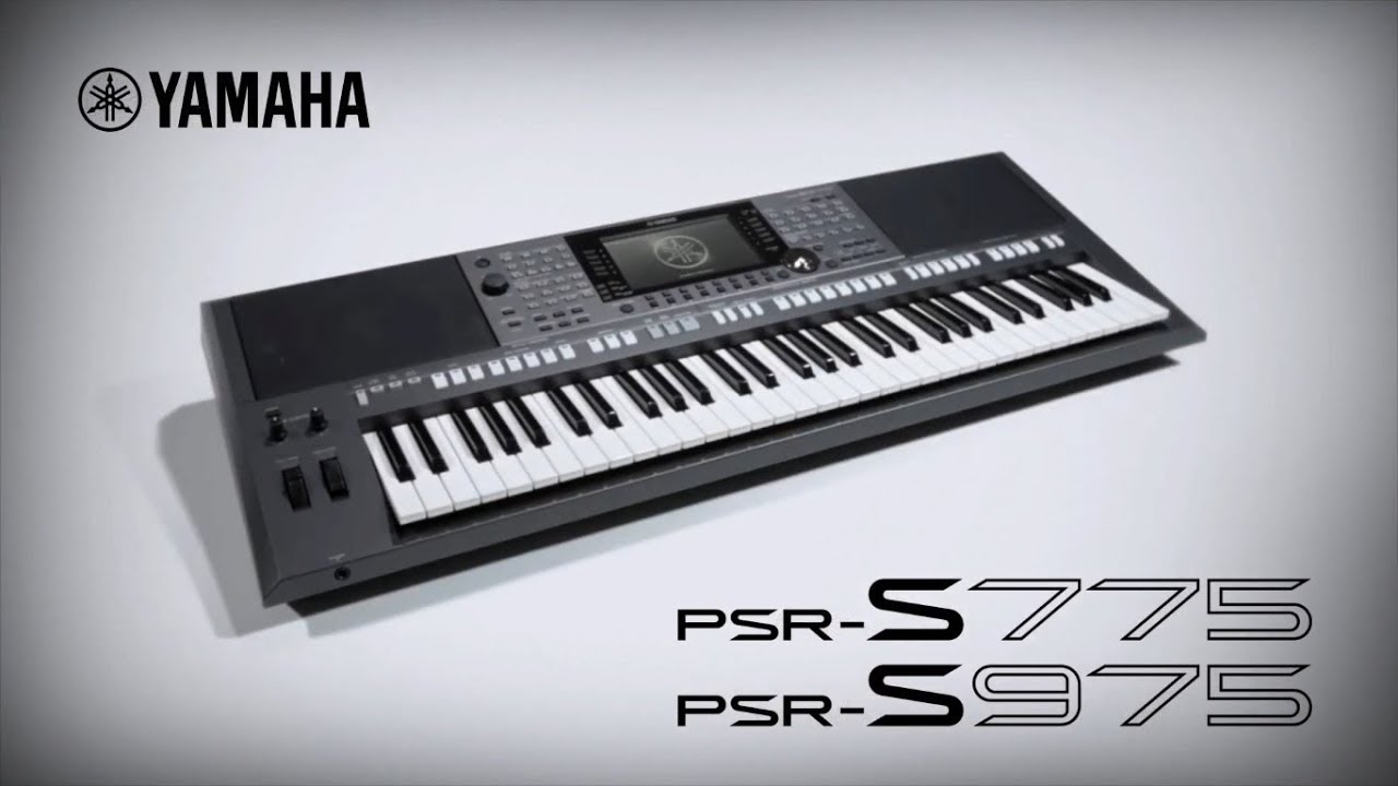 yamaha keyboard psr s975 s775 youtube. Black Bedroom Furniture Sets. Home Design Ideas