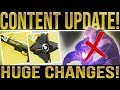 Destiny 2. HUGE UPDATE!! All Supers Revamped, Niobe Labs Solved, Crucible Changes, Secret Cutscene