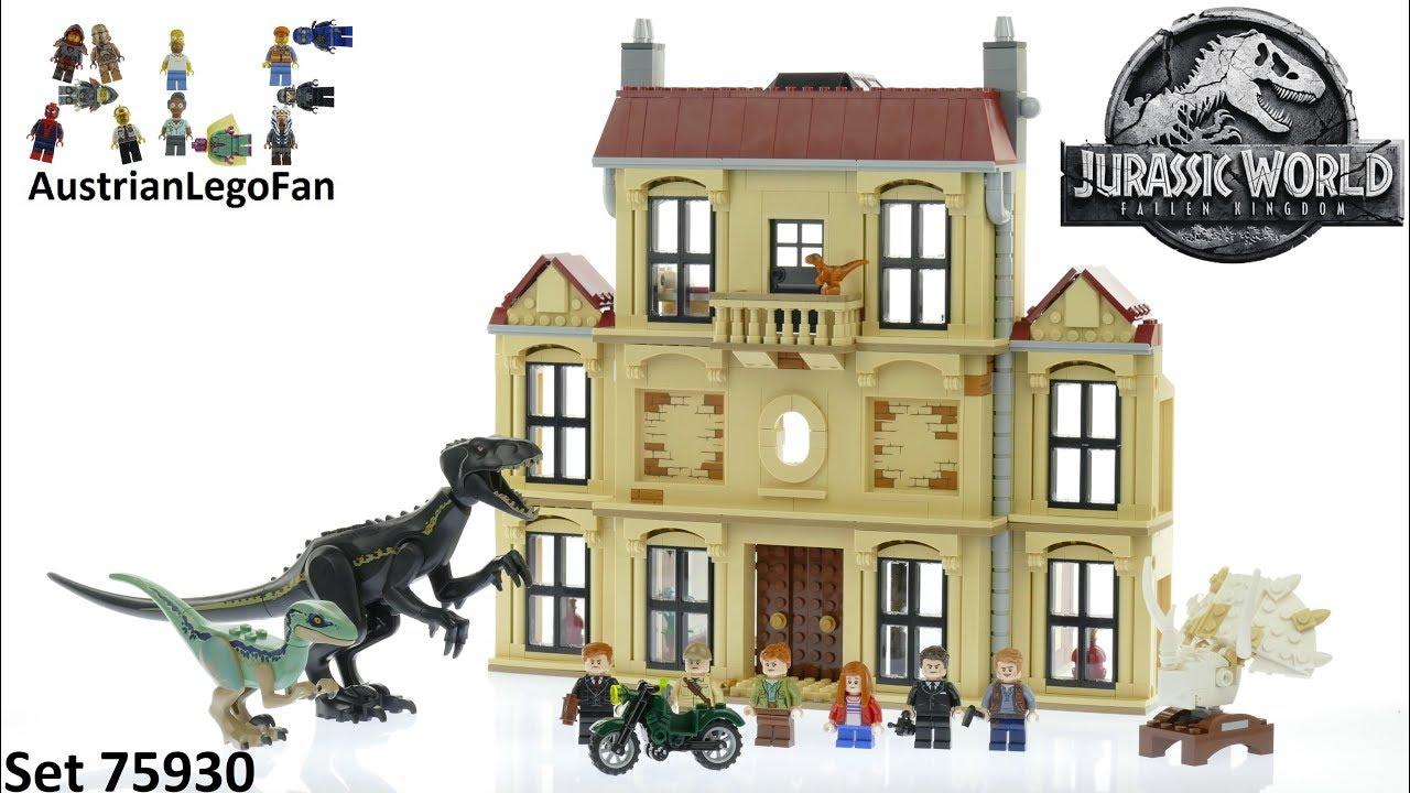 75930 LEGO Jurassic World Indoraptor Rampage Dinosaur Toy