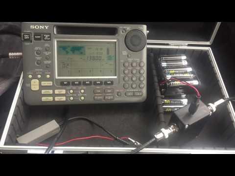 DXing with the Bonito Boni whip: Radio Tamazuj 13800 kHz, Madagascar, excellent signal