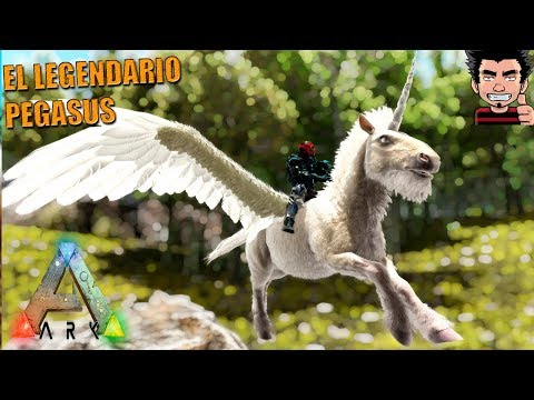 PEGASUS LEGENDARIO A PRUEBA ! PRIMAL FEAR MOD ARK SURVIVAL EVOLVED GAMEPLAY ESPAÑOL