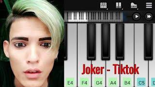 Download Joker Smile |  Tiktok Song | Easy Piano Tutorial | Perfect Piano