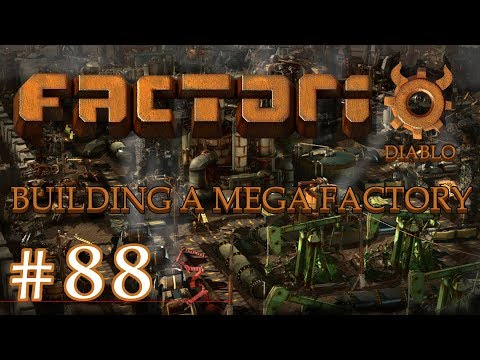 Factorio - Building a Mega Factory: Part 88 The Science Train station
