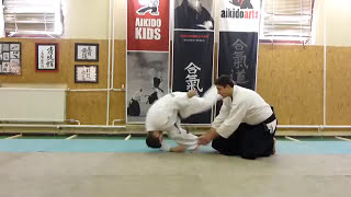 yokomen uchi ikkyogaeshi [TUTORIAL] basic Aikido technique