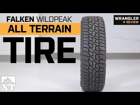 Jeep Wrangler Falken Wildpeak All Terrain Tire (29-35