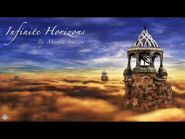 Celtic Harp Music Instrumental 'Infinite Horizons' Soothing Harp for Meditation & Relaxation