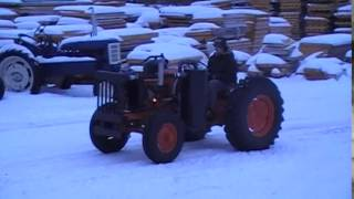 Case 310, Wood Gas Tractor Project