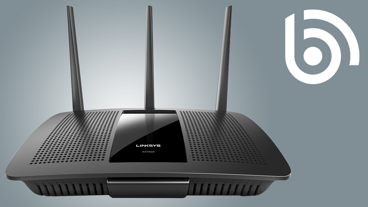 IMPROVE your internet connection with a Linksys EA7500 MU-MIMO WiFi Router