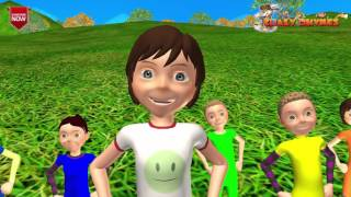 There is a rainbow children english rhyme  3D rhyme