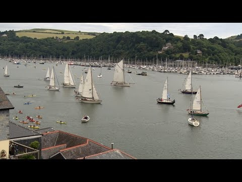 The Classic Yacht Channel Regatta Dartmouth UK, 2017 with commentary by Heather from Woofstock UK.