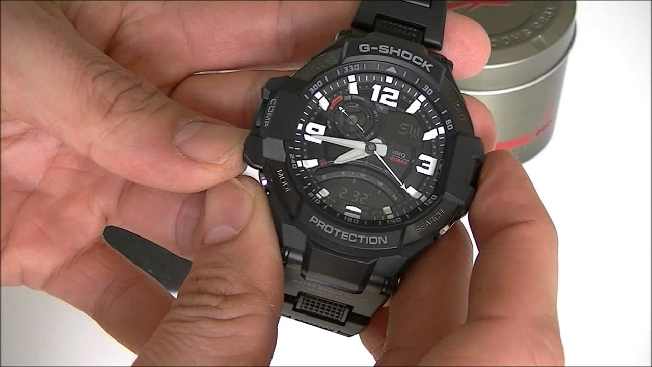 Casio G-Shock GA-1000FC-1AER review