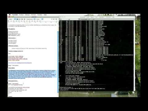 exim4 4.69 remote code execution