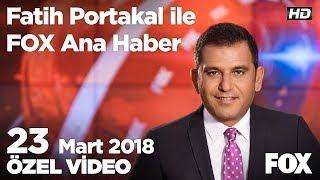 Siyaset 4 Lira'yı gören Dolar'a ne dedi? 23 Mart 2018 Fatih Portakal ile FOX Ana Haber